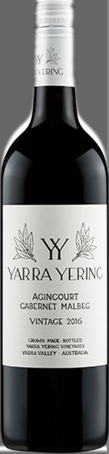 YARRA YERING Agincourt Cabernet Malbec, Yarra Valley 2016