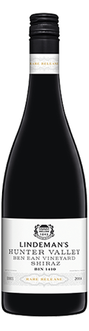 Rare Release Bin 1410 Ben Ean Vineyard Shiraz, Hunter Valley 2014
