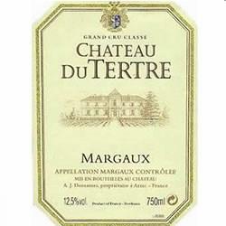 CHATEAU DU TERTRE 5me cru classe, Margaux 2016