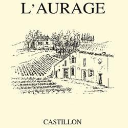 DOMAINE DE L'AURAGE, Cotes de Castillon 2016