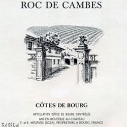 CHATEAU ROC DE CAMBES, Cotes de Bourg 2016
