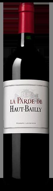 LA PARDE DE HAUT BAILLY Second wine of Chateau Haut-Bailly, Pessac-Leognan 2017