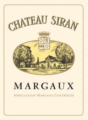 CHATEAU SIRAN, grand bourgeois, Margaux 2016