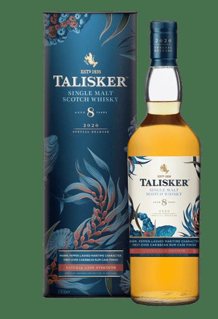 TALISKER Rare by Nature 8 Year Old Single Malt Scotch Whisky 57.9% ABV, Skye NV