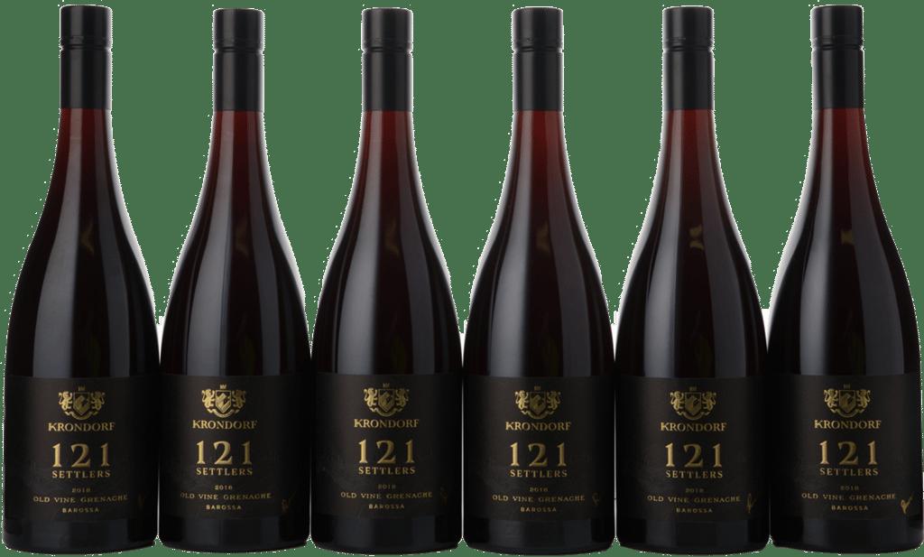 KRONDORF 121 Settlers Grenache 6 Bottle Set, Barossa Valley 2018