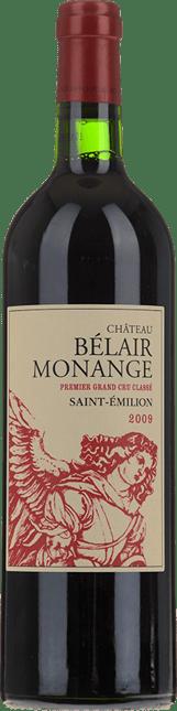 CHATEAU BELAIR-MONANGE 1er grand cru classe (B), St-Emilion 2009