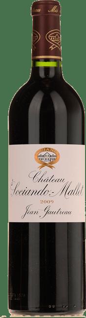 CHATEAU SOCIANDO-MALLET, GRAND BOURGEOIS Cabernet Blend 2009