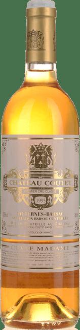 CHATEAU COUTET, 1ER CRU CLASSE Cuvee Madame Semillon-Sauvignon Blanc 1995