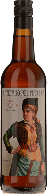 BODEGAS CAYETANO DEL PINO Y CIA Palo Cortado Solera 15yo Palo Cortado, Jerez-Xeres-Sherry NV