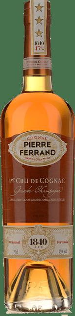 PIERRE FERRAND 1840 3 Star, 1er Cru de Cognac 45% ABV, Grande Champagne