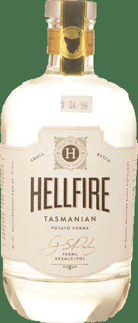 HELLFIRE BLUFF Small Batch Potato 40% ABV Vodka, Tasmania NV