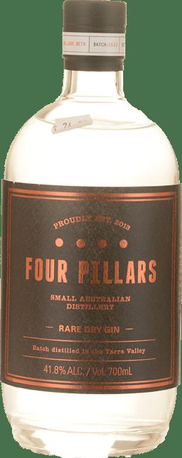 FOUR PILLARS DISTILLERY Rare Dry Gin 41.8% ABV, Yarra Valley NV