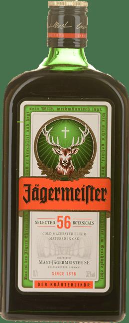 MAST-JAGERMEISTER Herb Liqueur 35% ABV, Germany NV