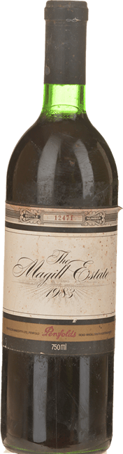 PENFOLDS Magill Estate Shiraz, Adelaide 1983