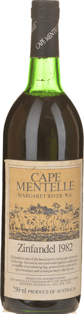 CAPE MENTELLE Zinfandel, Margaret River 1982
