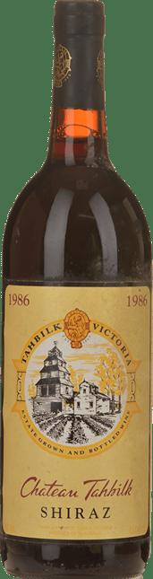 TAHBILK WINES Shiraz, Victoria 1986