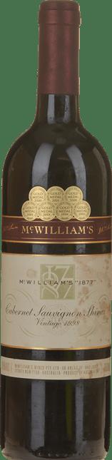MCWILLIAM'S WINES McWilliam's 1877 Shiraz Cabernet, Coonawarra, Hilltops 1998