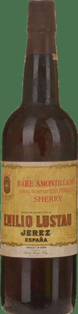 EMILIO LUSTAU Escuadrilla Rare Solera Reserva Amontillado, Jerez-Xeres-Sherry NV