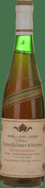 M. MARINGER Trittenheimer Altarchen Beerenauslese, Mosel-Saar-Ruwer 1976