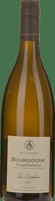 JEAN CLAUDE BOISSET Les Ursulines, Bourgogne Blanc 2014