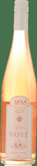 1838 WINES Merlot Rose, Mudgee 2018