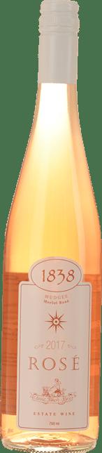 1838 WINES Merlot Rose, Mudgee 2017