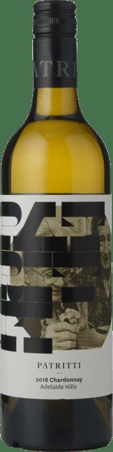 PATRITTI WINES Chardonnay, Adelaide Hills 2018