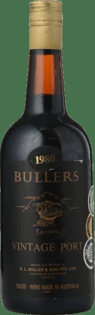 R.L. BULLER & SONS Calliope Vintage Port, Rutherglen 1980