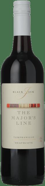 BLACKJACK VINEYARDS The Major's Line Tempranillo, Heathcote 2015