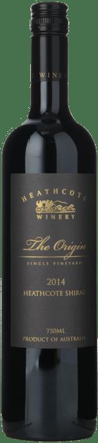 HEATHCOTE WINERY The Origin Shiraz, Heathcote 2014