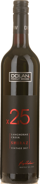 DOLAN FAMILY WINES x25 Shiraz, Langhorne Creek 2017