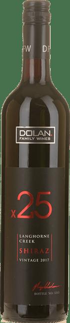 DOLAN FAMILY WINES x25 Shiraz, Langhorne Creek 2017