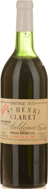 PENFOLDS St. Henri Shiraz, South Australia 1970