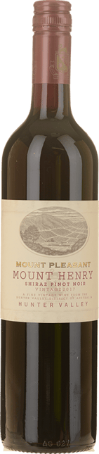 MOUNT PLEASANT Mount Henry Shiraz Pinot Noir, Hunter Valley 2017