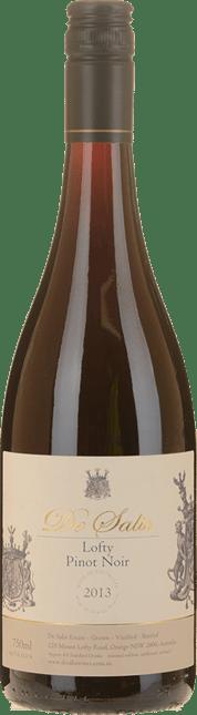 DE SALIS WINES Lofty Pinot Noir, Orange 2013