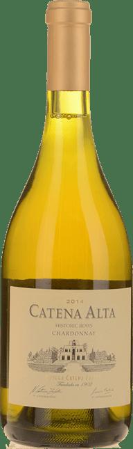 CATENA ZAPATA Catena Alta Chardonnay, Tupungato, Mendoza, Argentina 2014