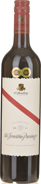 D'ARENBERG WINES The Ironstone Pressings Grenache Shiraz Mourvedre, McLaren Vale 2011