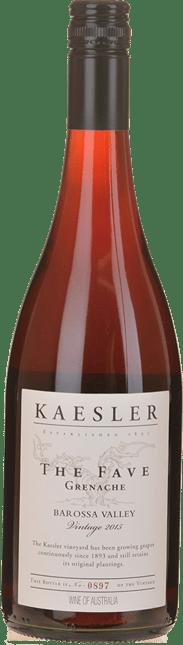 KAESLER WINES The Fave Grenache, Barossa Valley 2015