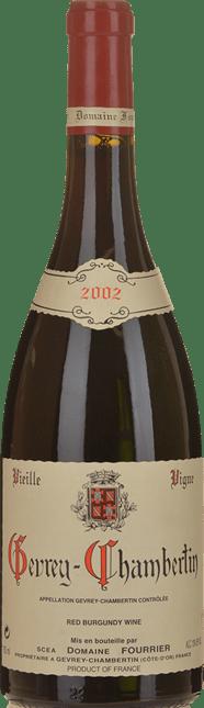 DOMAINE FOURRIER Vieille Vigne, Gevrey-Chambertin 2002