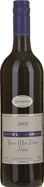 MOUNT LANGI GHIRAN VINEYARDS Trevor Mast Tribute Shiraz, Grampians 2005