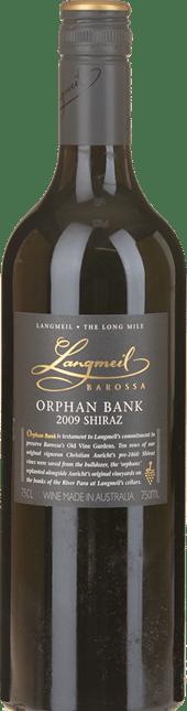 LANGMEIL WINERY Orphan Bank Shiraz, Barossa Valley 2009