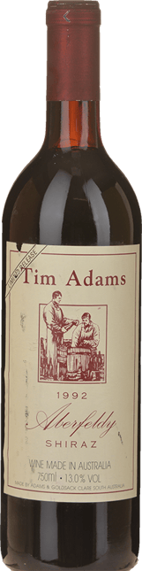TIM ADAMS The Aberfeldy Shiraz, Clare Valley 1992