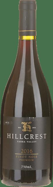 HILLCREST VINEYARDS Premium Pinot Noir, Yarra Valley 2016