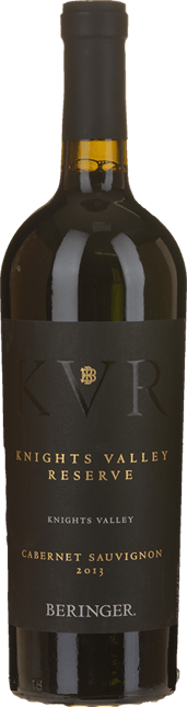 BERINGER Knight Valley Reserve Cabernet, Sonoma County 2013