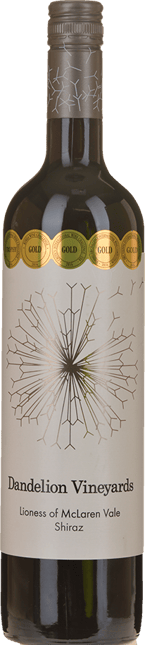 DANDELION VINEYARDS Lioness Shiraz, McLaren Vale 2015