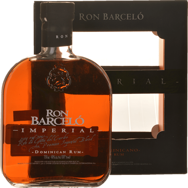 RON BARCELO Imperial 40% ABV Rum, Dominican Republic NV