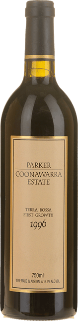 PARKER COONAWARRA ESTATE Terra Rossa First Growth, Coonawarra 1996