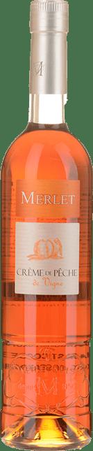 MERLET Creme de Peche de vigne Liqueur, Charentais (IGP) NV