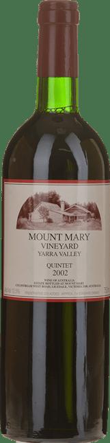 MOUNT MARY Quintet Cabernet Blend, Yarra Valley 2002