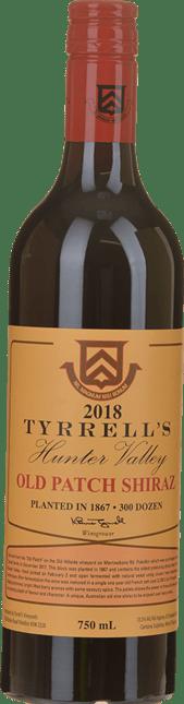 TYRRELL'S Single Vineyard Old Patch 1867 Shiraz, Hunter Valley 2018